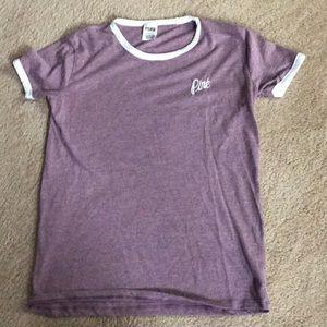Women's Pink short sleeve